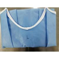China EO Sterile Disposable Sterile Gowns PP+PE+PP Material Weight 60-70 Gsm on sale