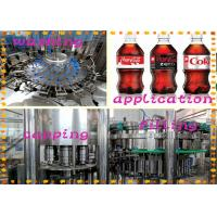 China Gas Contained Cola Energy Drink Filling Machine With Low Electricity Consumption wholesale