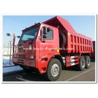 HOWO 70tons Off road Mining Dump Truck Tipper 6 by 4 driving model 371hp with HYVA Hdraulic lifting system