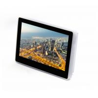 """China 7"""" and 10"""" Sibo wall mounting touch panel with Integrated reader for reading 13.56 MHz cards, LAN, POE, WIFI on sale"""