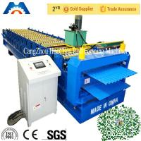 China Corrugated iron roof sheet Double Layer Roll Forming Machine for Turkey market wholesale