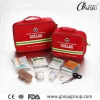 China Oxford Fabric Material GJ-2069 First Aid Kit ISO Certificate Emergency First Aid Kits wholesale