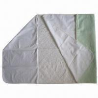 China Washable Super-absorbent PU Laminated Underpads with Wings wholesale