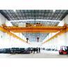 China Grúa de arriba de la carretilla de 30 toneladas del doble del gancho de la viga gemela del doble para el almacén wholesale