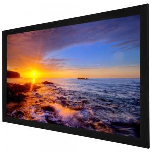 Buy cheap Tela fixa do projetor de 120 polegadas, tela de projeção do quadro fixo para from wholesalers