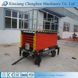 China aerial scissor type platform lift from china wholesale