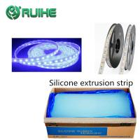 China Flexible High Transparent Liquid Silicone Rubber Extrusion Led Strip Hose on sale