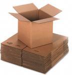 China Self Locking 3 Layers Corrugated Packaging Boxes Plain Cardboard Paper Box wholesale