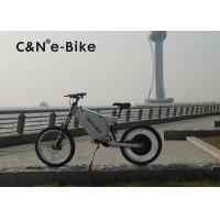 China 72V 8000W Off Road Electric Bike With Self Charging Lithium Battery wholesale