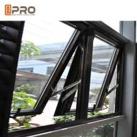 China Dust Resistance Aluminum Top Hung Window For House Projects Customized Size on sale