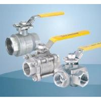 China Investment Casting Screwed Ball Valves on sale