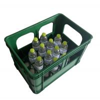 China Vented Plastic Storage Wine Beverage Beer Bottle Crates wholesale