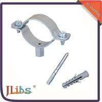 China Welding Type Horizontal / Vertical Pipe Support Bracket Corrosion Resistance wholesale