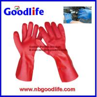 China Sandy finished fully coated dipped palm pvc glove wholesale