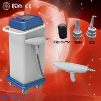 China Long Pulse Q Switched ND-yag Laser Machine / Tattoo Removal Supplier wholesale