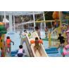 China Fiberglass Water Pool Slides in Medium Water Playground 3200*2700*1300 wholesale