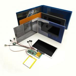 7 Inch Digital LCD Video Greeting Card / Video Module 300-2000MAH Battery