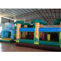 China Big Party Custom Made Inflatables 0.55mm Pvc Tarpaulin For Kindergarten Baby wholesale