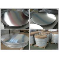 China PVC Decoration Aluminium Round Discs Flat Plate Aluminium Round Sheet wholesale