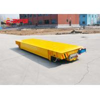 China SKF Bearing Battery Powered Cart , Cast Steel Wheel Propelled Die Transfer Cart on sale