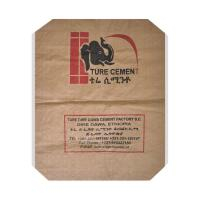 China Polypropylene PP Cement Bags with Valve Water Resistant Gravure Printing 50kg on sale