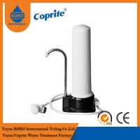 One Stage PP / Ceramic Cartridge Household Water Filter With Stainlees Steel Faucet