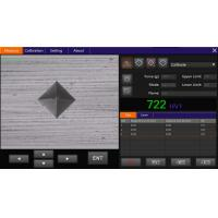 VicPad portable vickers hardness tester Software with Touch Panel