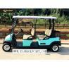 China carro de golf eléctrico del pasajero 48V 6 con el chasis de aluminio para el transporte wholesale