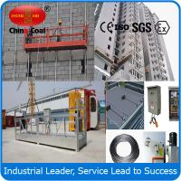 China ZLP500 personal construction safety equipment suspended platform wholesale