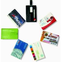 China Kongst Custom Promotional Printed Credit Card USB wholesale