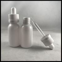 China Glass / Plastic Pipette PET E Liquid Bottles Health And Safety For Medical Packing wholesale