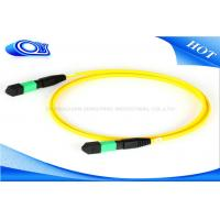 China Outdoor 12 / 24 Core 5M Length MTP MPO Connector For Optical Fiber Patch Cord wholesale