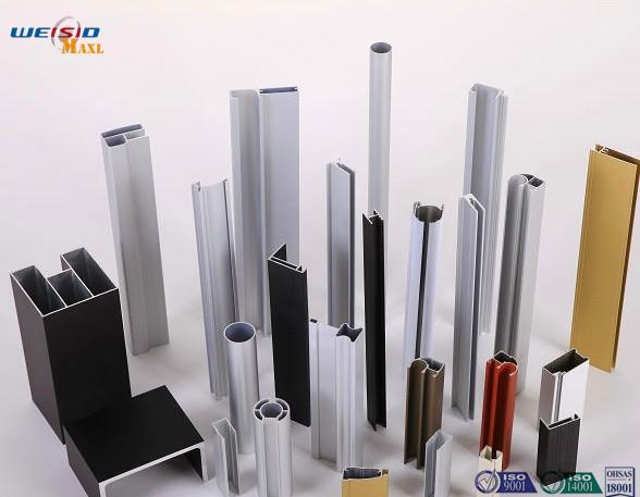 Quality Custom Alloy 6063 T 5 Aluminium Door Profiles With Powder Coating for sale