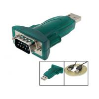 China Compact Green RS232 DB9 USB IO  Adapter with Best Compatibility wholesale