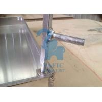 Square Drain Grate Covers , Metal Driveway Drainage Grates 80mm Height