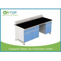 China University Laboratory Furniture With Black Granite Worktop Adjustable Height wholesale
