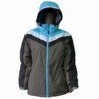 China Women's Colorful Ski Jacket, Waterproof and Breathable, with Soft Hand Feeling, Used for Outdoor on sale