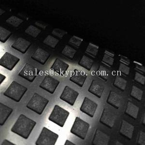 Buy cheap Циновки анти- выскальзывания твердые квадратные сверхмощные резиновые с прочност from wholesalers
