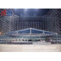 China Waterproof Aluminum Triangle Truss , High Strength Stage Truss Rigging wholesale