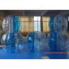 China 1.2m PVC / TPU Inflatable Bubble Ball For Games , Human Bumper Balls wholesale