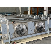 China Two fans Air Condenser Cooler Condenser Use for Vegetable Refrigeration wholesale
