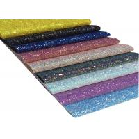 China A4 Size Glitter Fabric Sheet For DIY Material,Chunky Glitter Fabric Sheet wholesale