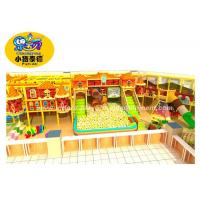 China Indoor Toddler Soft Play Equipment With Foam / Sponge / Plastic Material wholesale