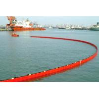China WGV1000 Containment Boom PVC Rubber Solid Float Oil Barrier Contain Boom Stop pollution Fence Sea on sale