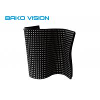 China P2.5 Creative LED Matrix Display Spinning Frame Soft Module For Airport / Trade Show on sale