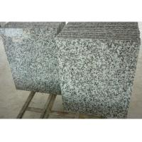 Solid Surface Granite Stone Floor Tiles , Gray Natural Granite Stone Slabs