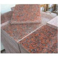 China Maple Leaf Red Granite Stone Slab / G562 Granite Tile CE Approved on sale