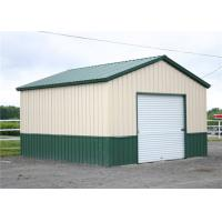 China Clear Span Steel Barn Structures With High Security Slop Straight Roof wholesale
