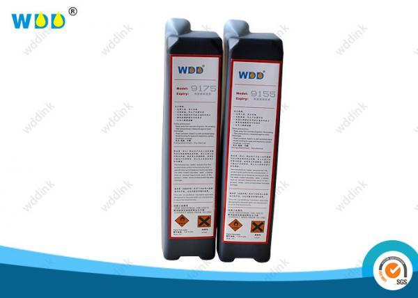 Quality Imaje Printer CIJ Ink Solvent Dye Type Black MEK Based 800ml Volume Waterproof for sale