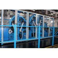 China Nonwoven Polyester Wadding Wool Carding Machine , Fiber Processing Equipment Double Doffer wholesale